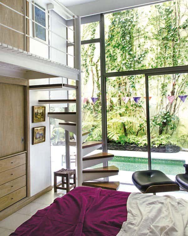 Courtyard House Design-14-1 Kindesign