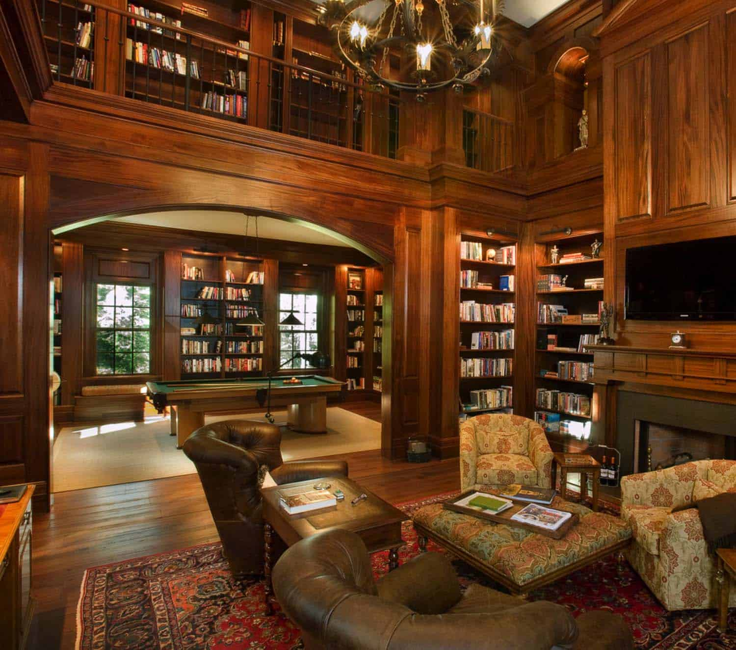 Mahogany Home Library Office: 36 Fabulous Home Libraries Showcasing Window Seats