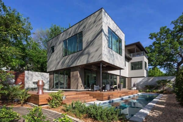 featured posts image for LEED Silver house in Atlanta nestles into its wooded environment