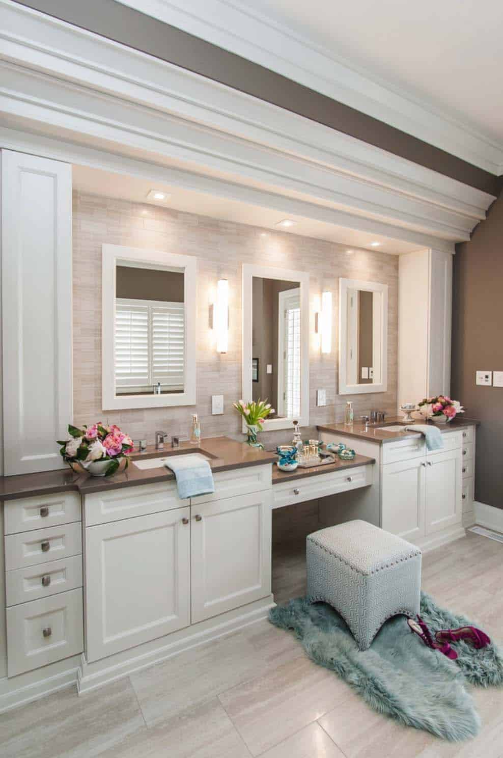 53 most fabulous traditional style bathroom designs ever for Bathroom motif ideas