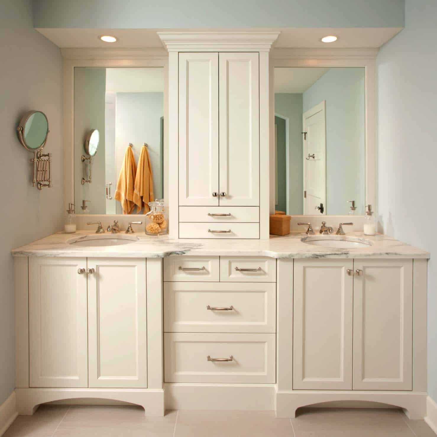 Traditional Bathroom Design Ideas-09-1 Kindesign