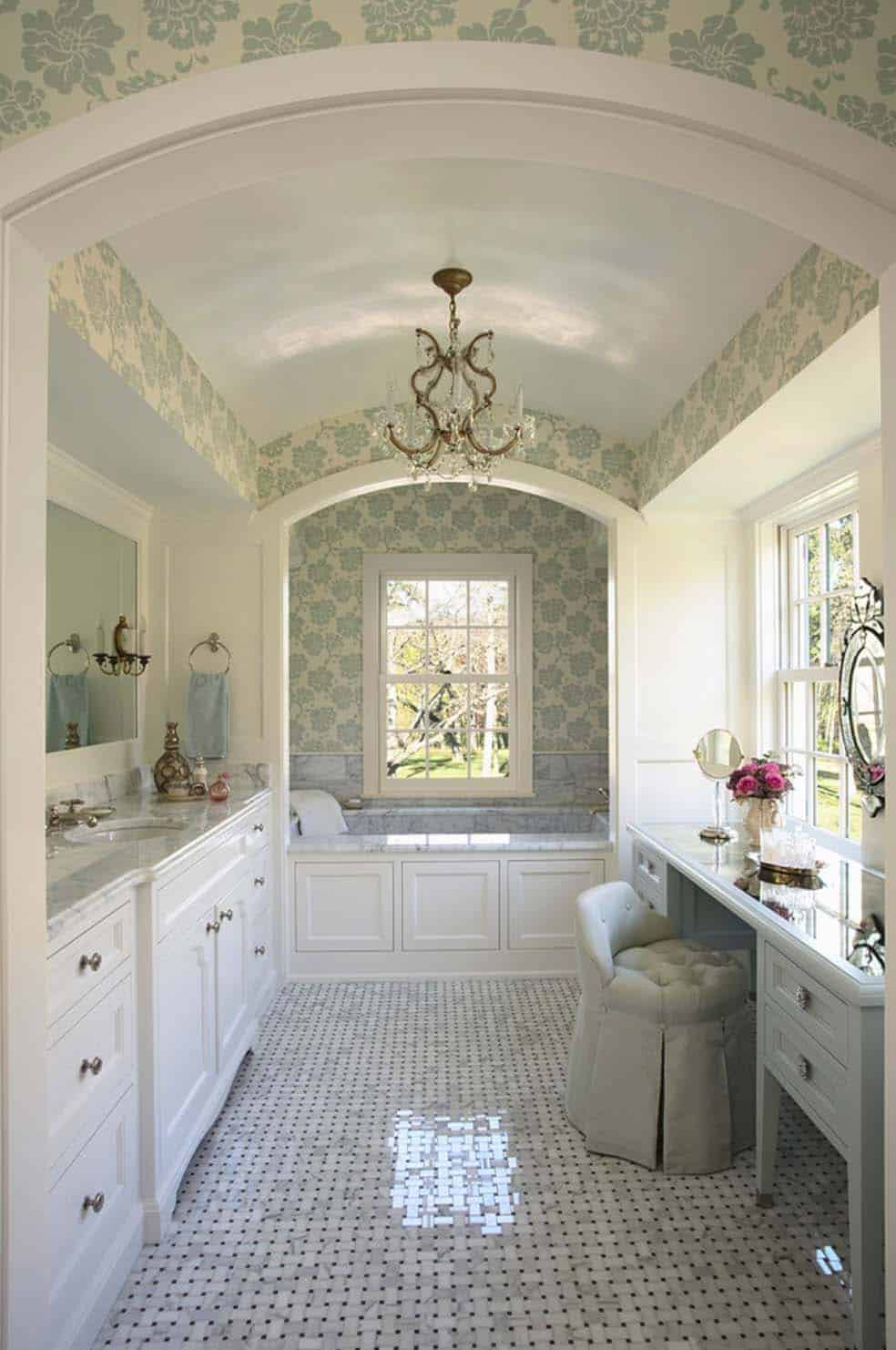 Traditional Bathroom Design Ideas-22-1 Kindesign