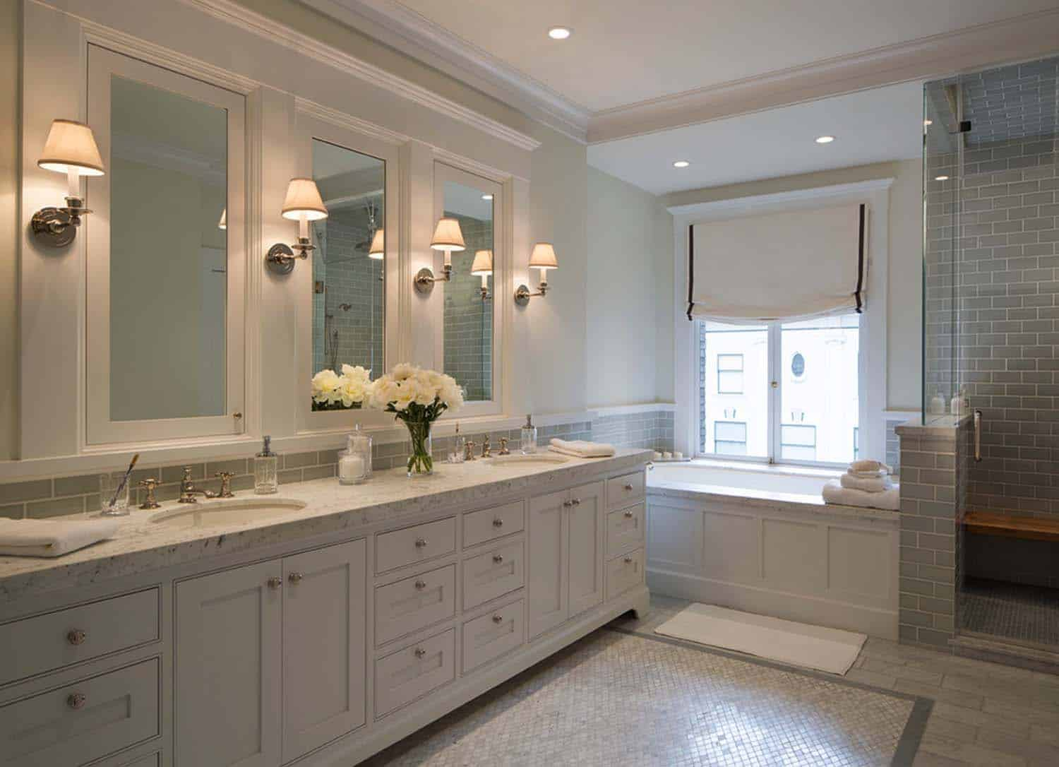 53 most fabulous traditional style bathroom designs ever for Pictures of traditional bathrooms