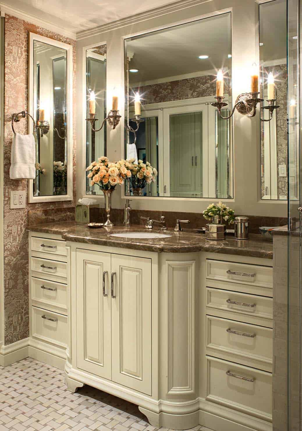 Traditional Bathroom Design Ideas-47-1 Kindesign