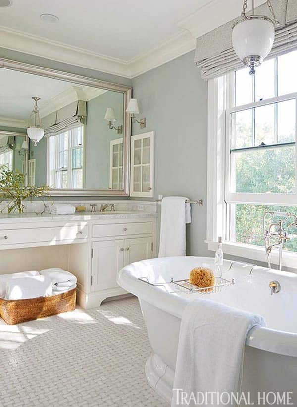 Traditional Bathroom Design Ideas-48-1 Kindesign
