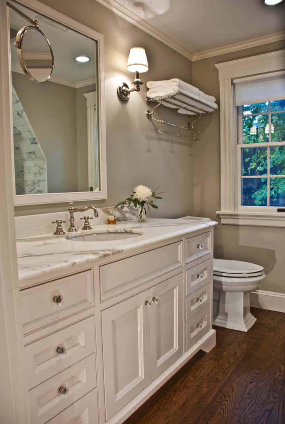 53 Most Fabulous Traditional Style Bathroom Designs Ever - Small-bathroom-remodels