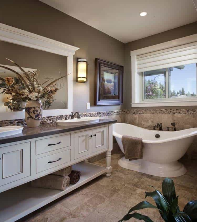 53 most fabulous traditional style bathroom designs ever - Master bedroom and bathroom paint colors ...