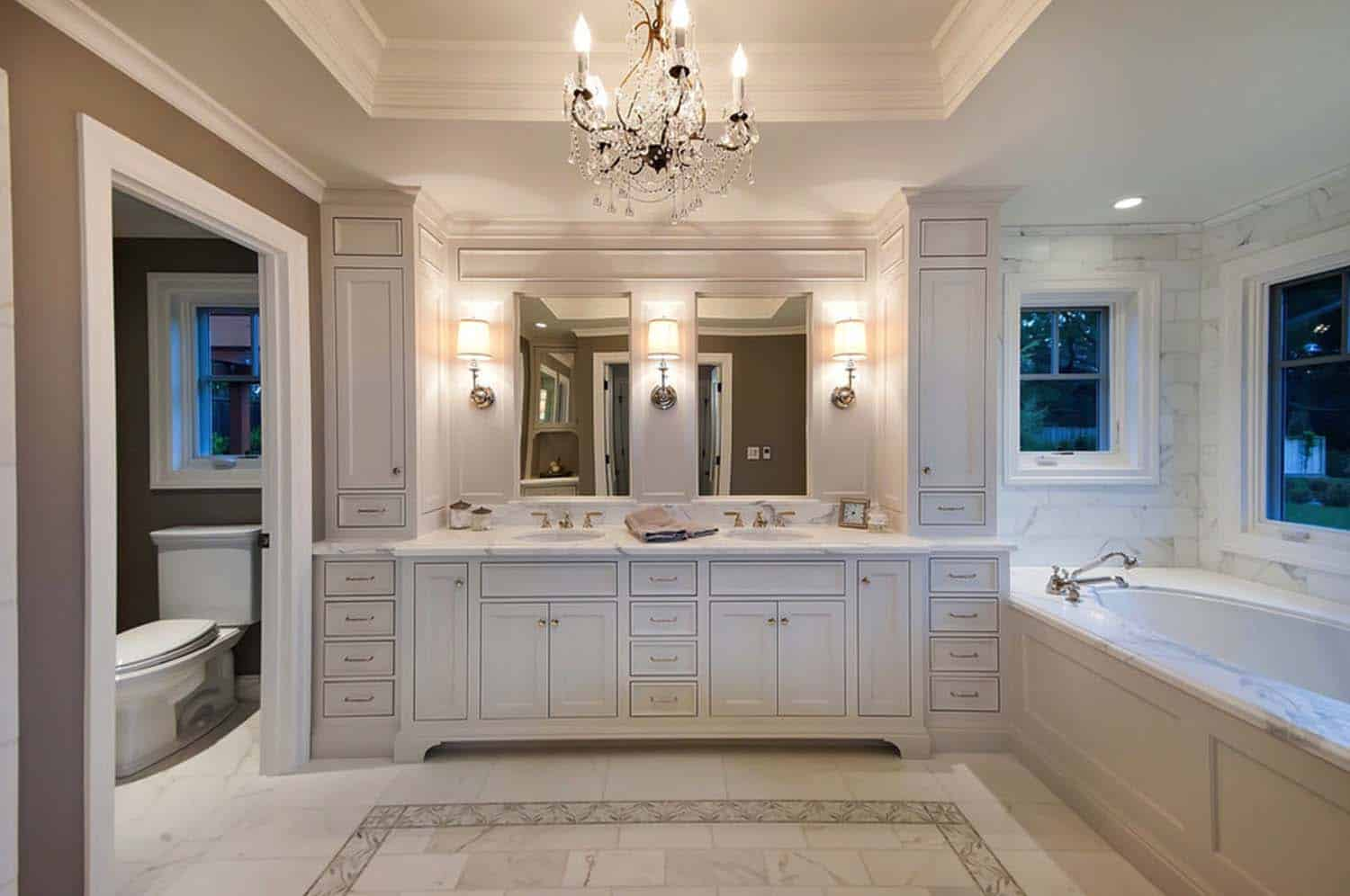 Traditional Bathroom Design Ideas-52-1 Kindesign