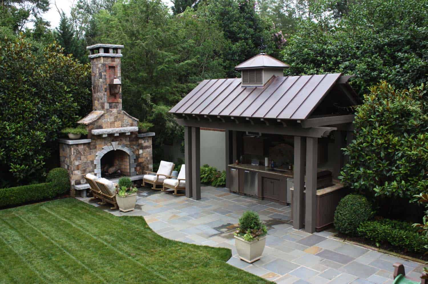 Traditional Outdoor Patio Designs-10-1 Kindesign