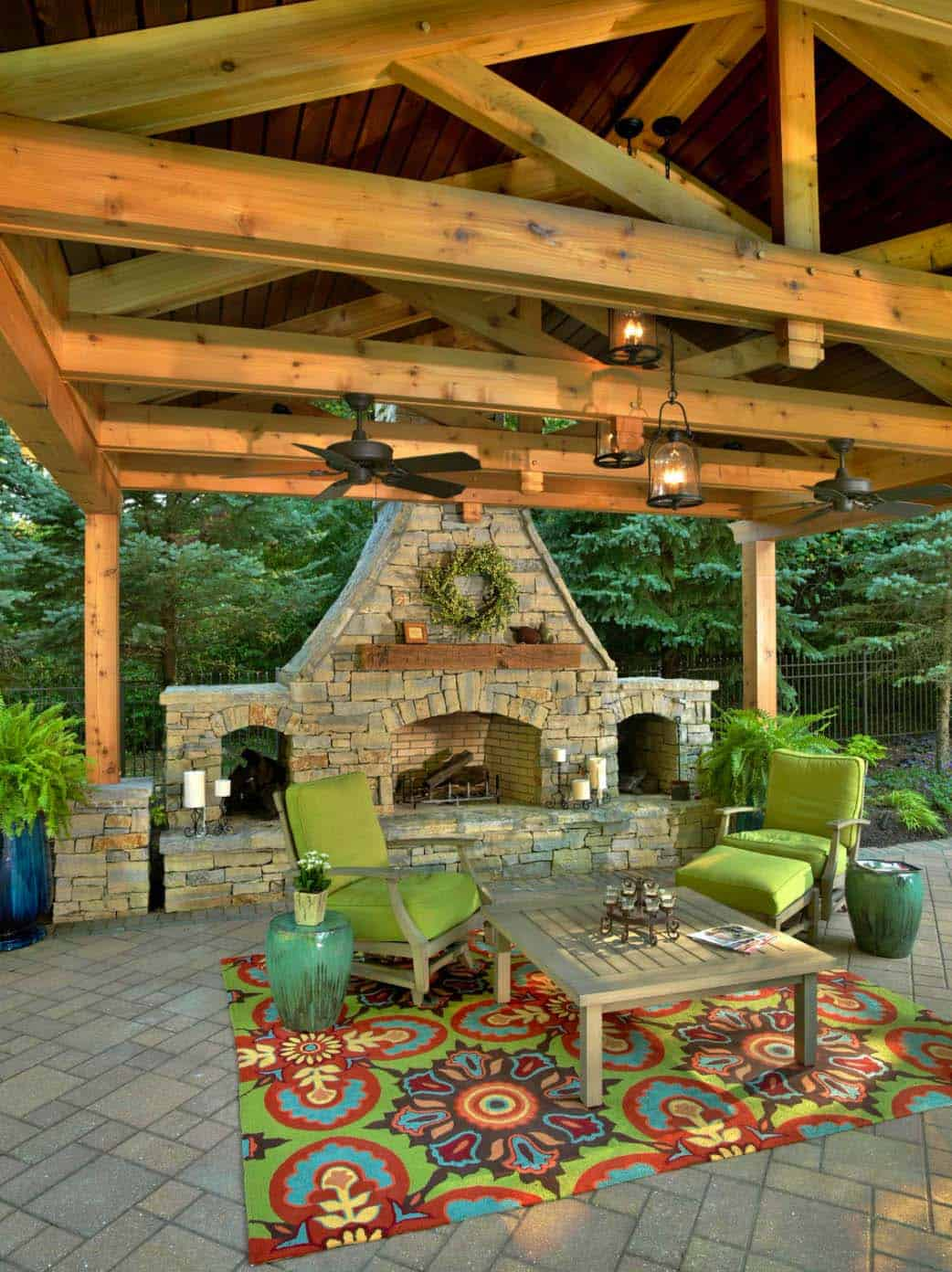 44 Traditional outdoor patio designs to capture your ... on Small Outdoor Covered Patio Ideas id=76618