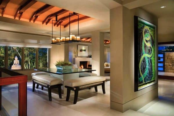 featured posts image for Tropical modernism in Laguna Beach with an Asian twist