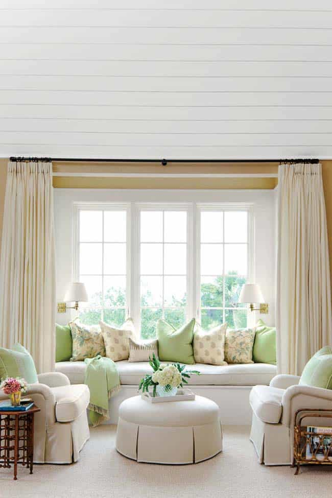 44 window nooks framing spectacular views for Sitting window design