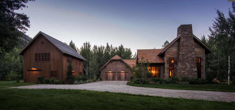 Woodland chalet imbues rustic elegance in Idaho\u0027s Sun Valley