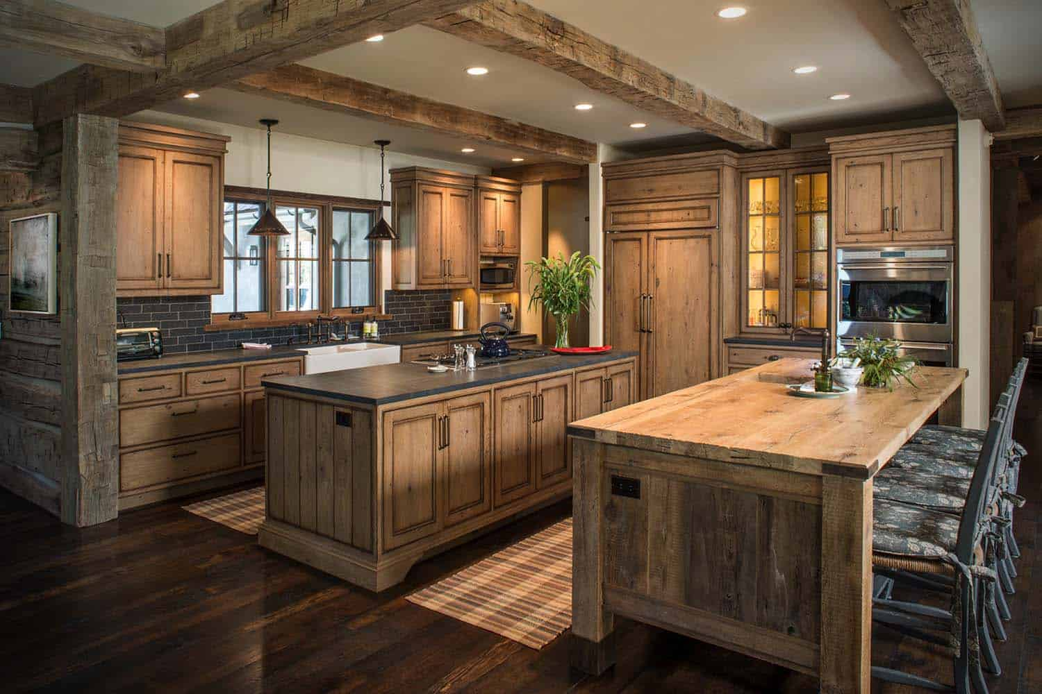 Wood River Valley Chalet-Miller Architects-05-1 Kindesign