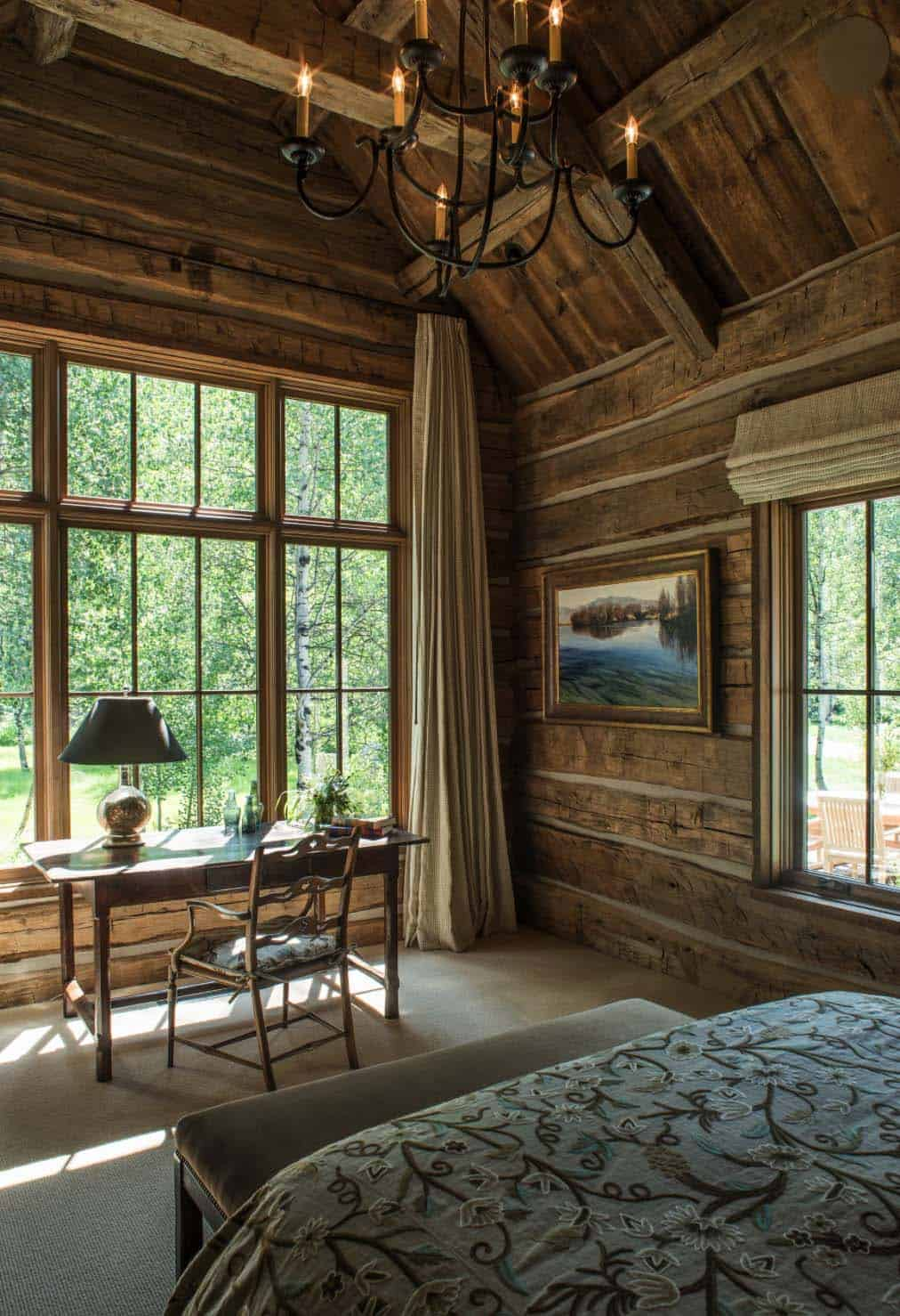 Wood River Valley Chalet-Miller Architects-07-1 Kindesign