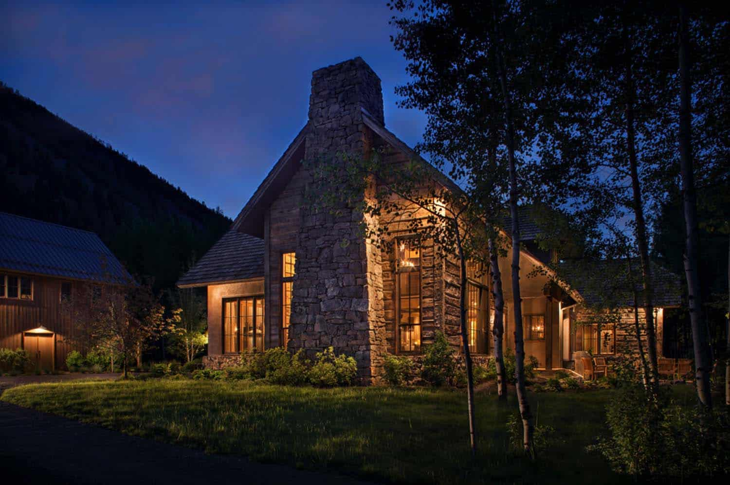 Wood River Valley Chalet-Miller Architects-09-1 Kindesign