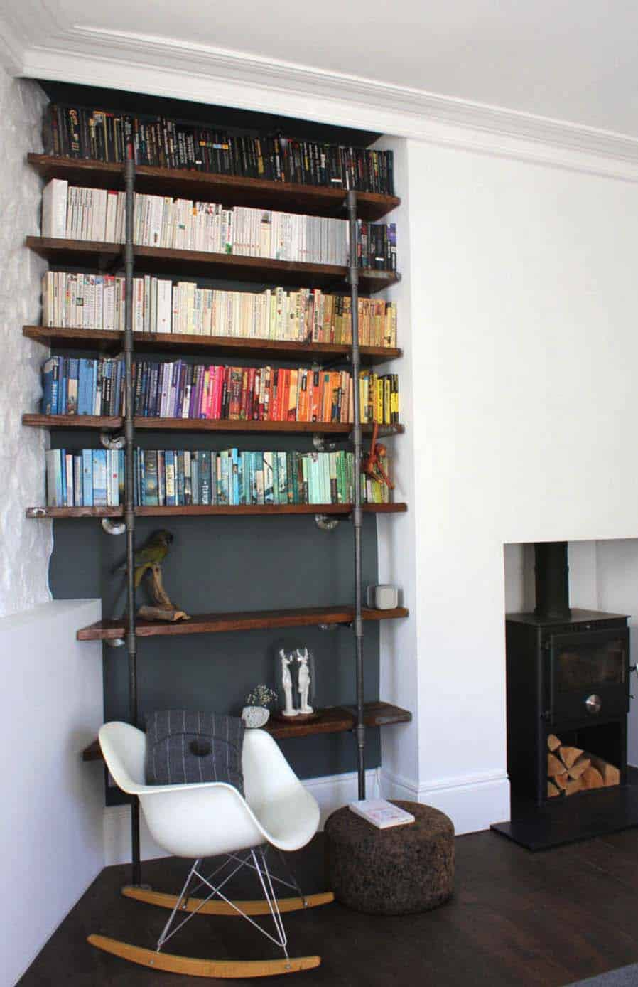 Bookshelf Ideas-Coordinated Books-06-1 Kindesign