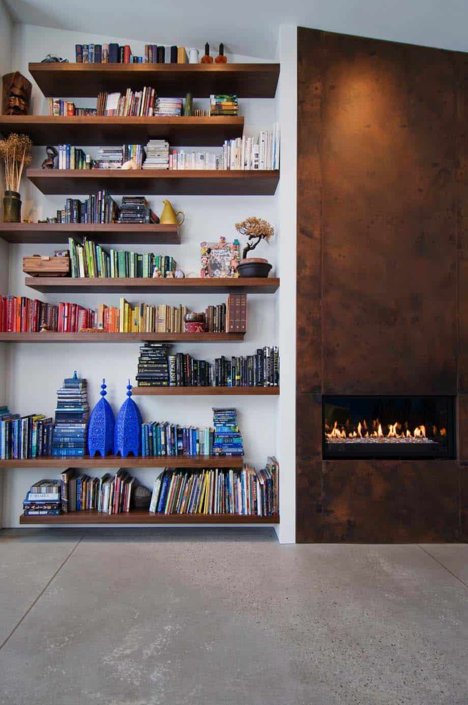 Bookshelf Ideas-Coordinated Books-07-1 Kindesign