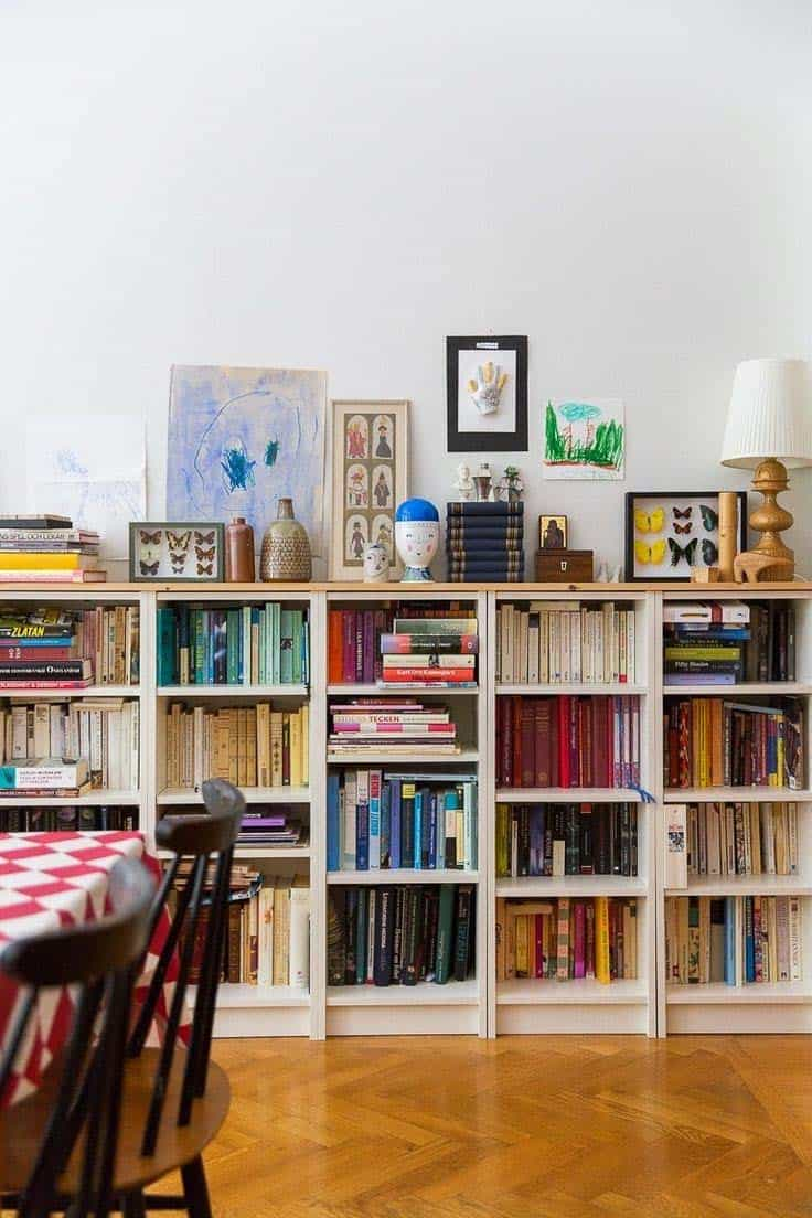 Bookshelf Ideas-Coordinated Books-22-1 Kindesign