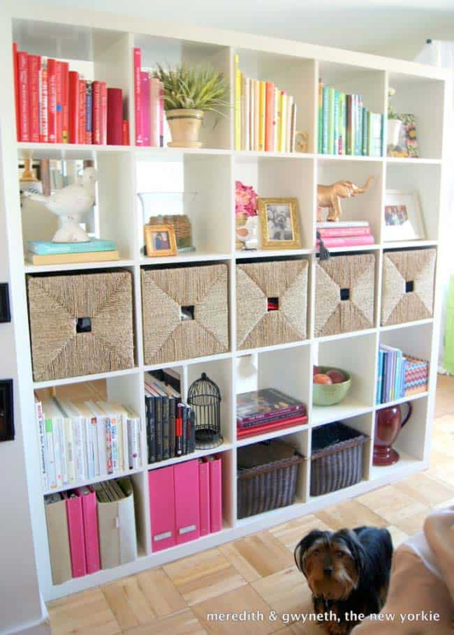 Bookshelf Ideas-Coordinated Books-30-1 Kindesign