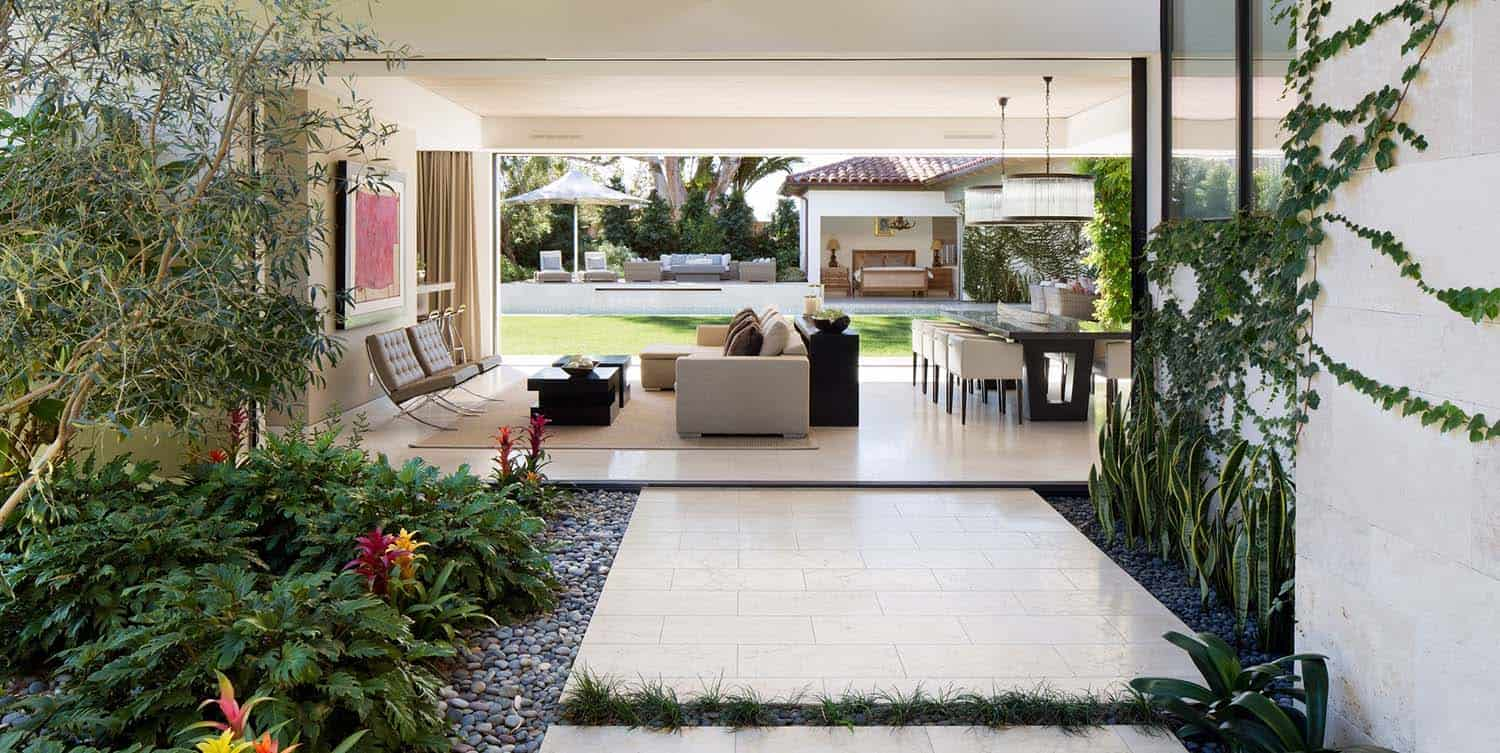 Contemporary home with inviting spanish influences in for California contemporary home plans