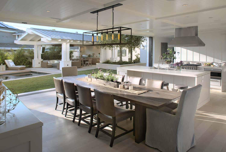 Contemporary east coast inspired beach house in coronado for East coast house plans