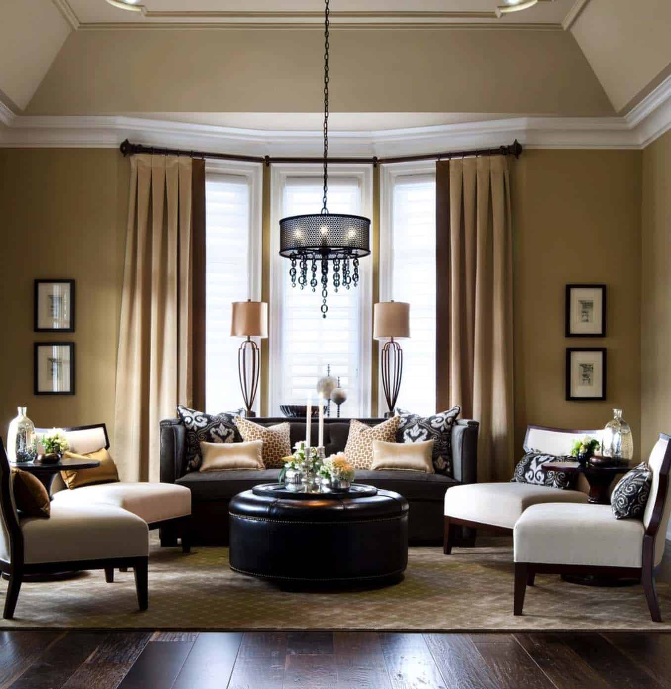 Living Room: 38 Elegant Living Rooms That Are Brilliantly Designed