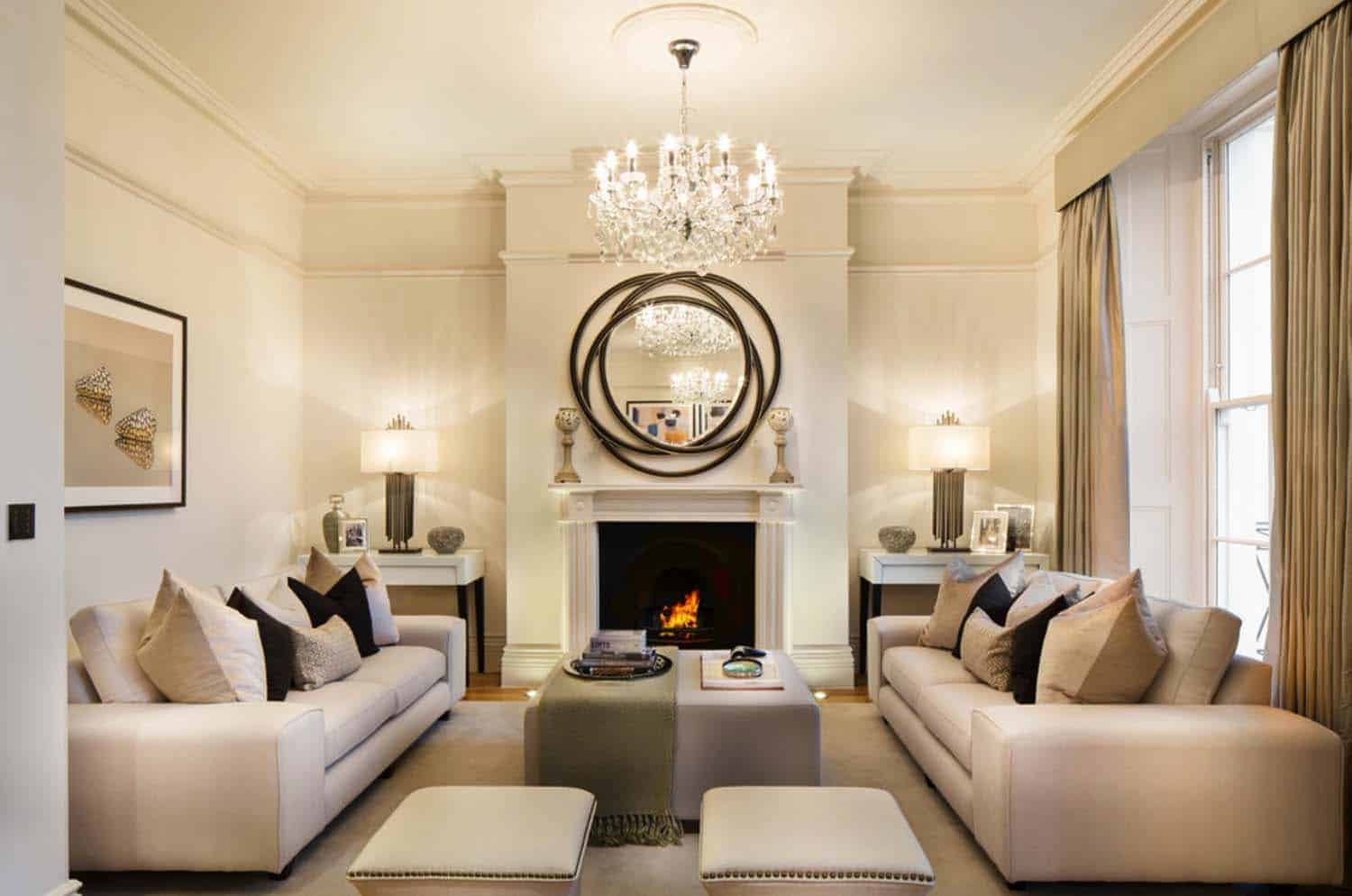 excellent classy living room design | 38 Elegant living rooms that are brilliantly designed