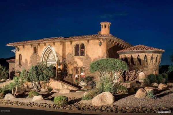 featured posts image for Medieval masterpiece: Italian-inspired gothic villa in Scottsdale
