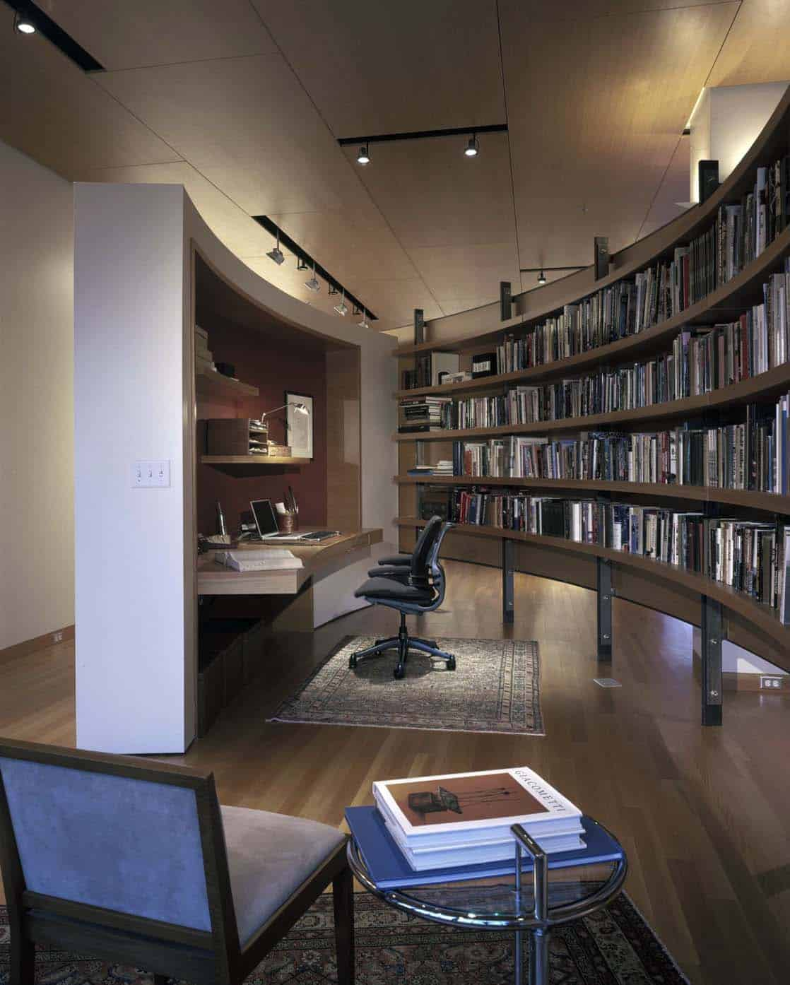 Home Office Library Ideas-05-1 Kindesign
