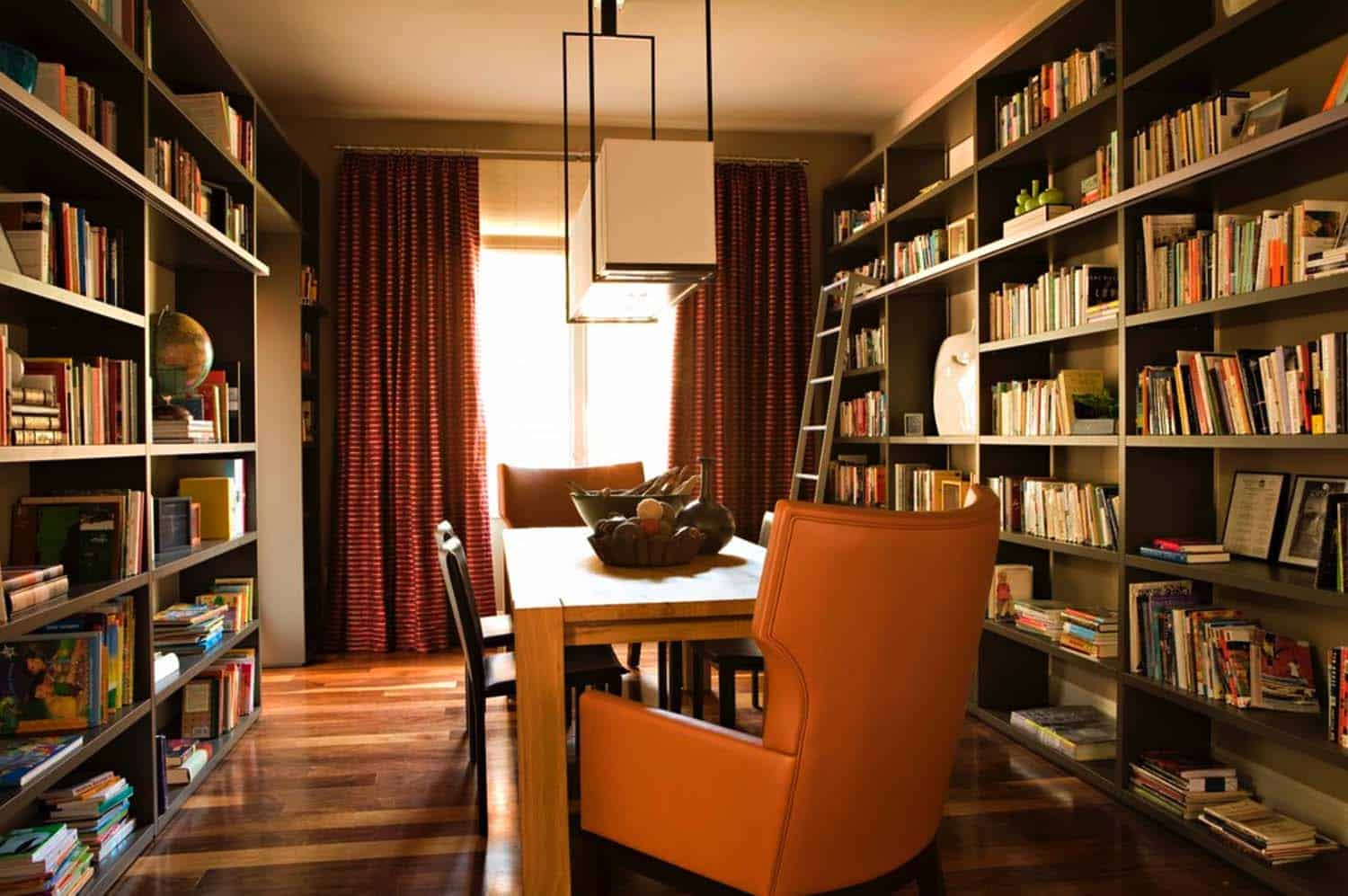 Superb Home Office Library Ideas 09 1 Kindesign