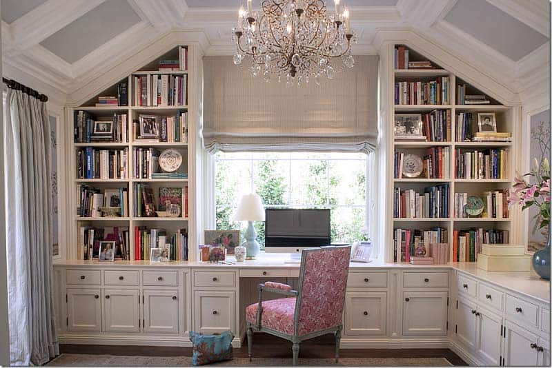 Home Office Library Ideas-20-1 Kindesign