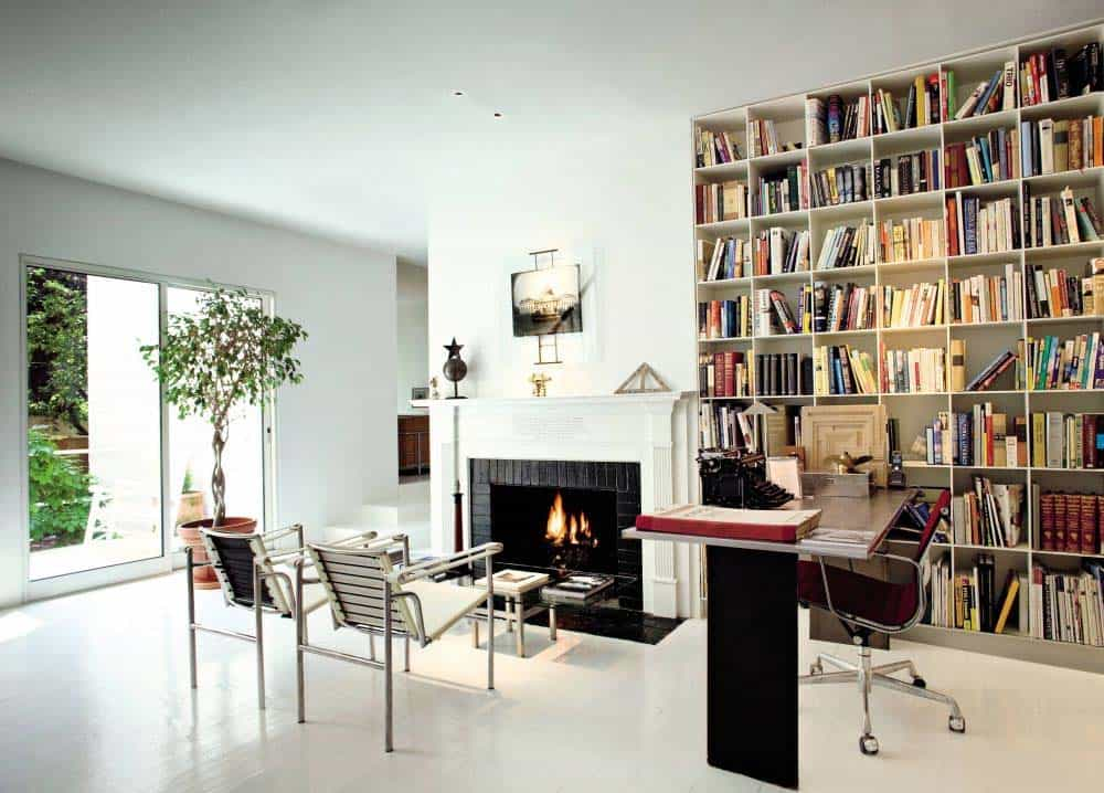 Home Office Library Ideas-22-1 Kindesign