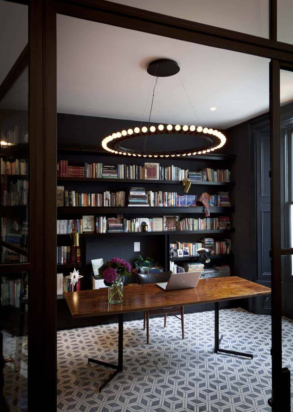 Home Office Library Ideas-23-1 Kindesign
