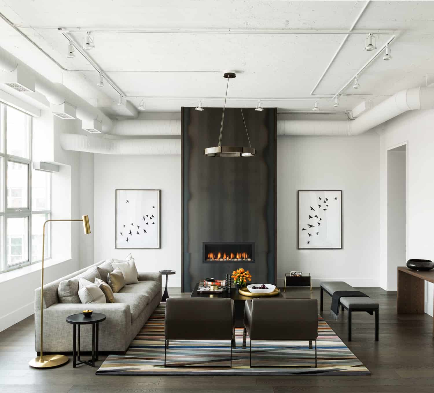 Industrial Contemporary: Toronto Merchandise Warehouse Converted To Modern
