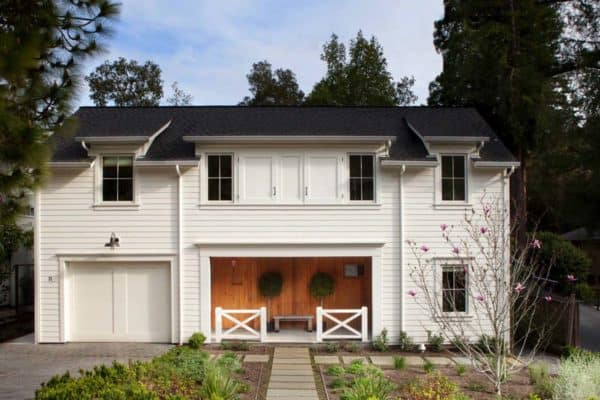 featured posts image for Chic modern farmhouse style in Mill Valley, California