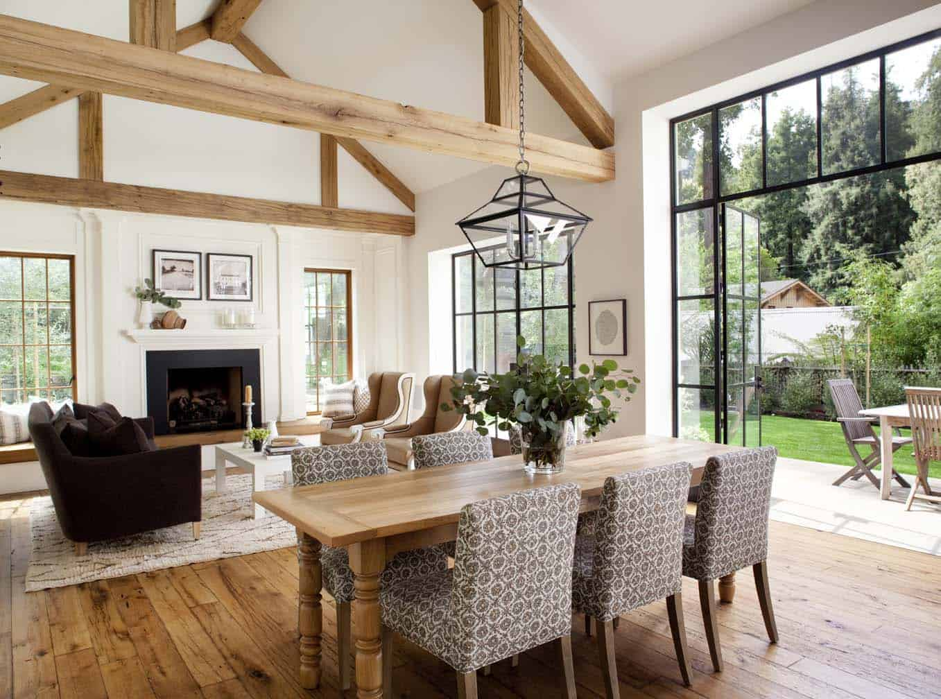 The Oakland Home Of Patrick Printy: Chic Modern Farmhouse Style In Mill Valley, California