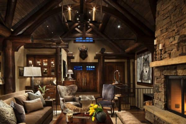 featured posts image for Exquisite mountain home remodel mixes rustic with modern in Big Sky