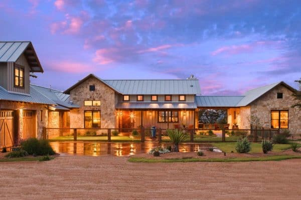 featured posts image for Rustic ranch house retreat designed for family gatherings in Texas