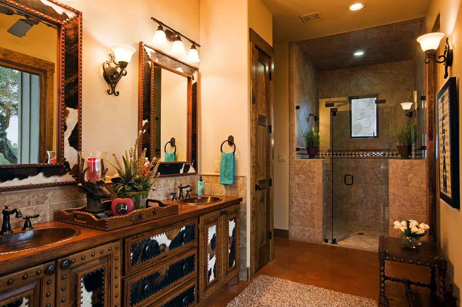 Bathroom Ideas Ranch Home: Rustic Ranch House Designed For Family Gatherings In Texas