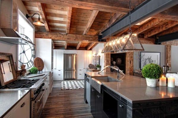 featured posts image for Luxury Canadian home reveals splendid rustic-modern aesthetic