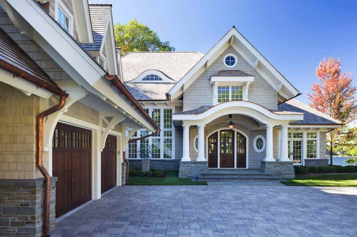 Breathtaking shingle style residence on lake minnetonka for Custom home design ideas