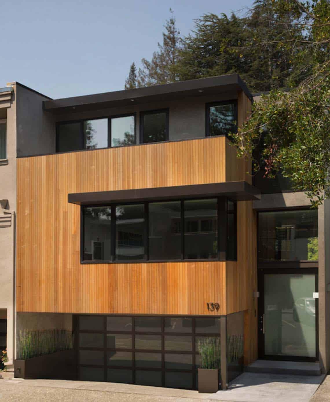Eichler-Inspired Townhouse-John Lum Architecture-01-1 Kindesign