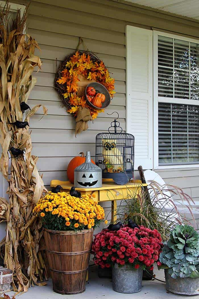 Fall Outdoor Decorating Ideas-03-1 Kindesign
