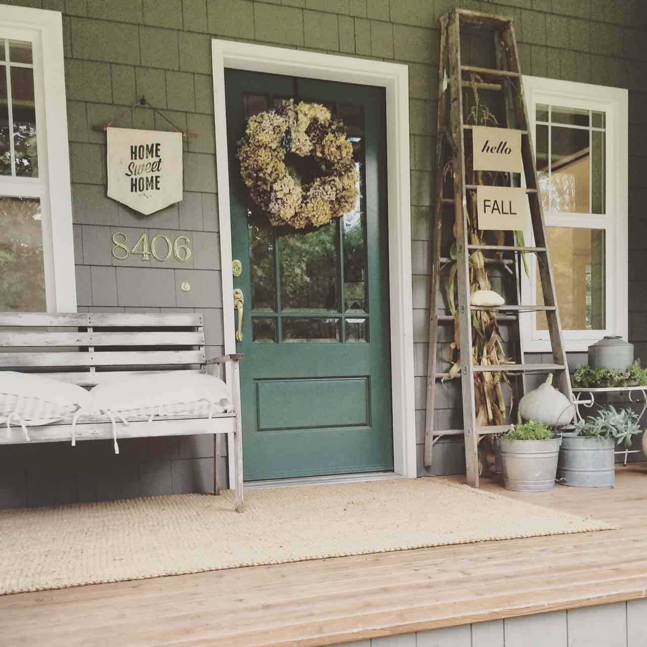 Front Porch Decorating: 46 Of The Coziest Ways To Decorate Your Outdoor Spaces For