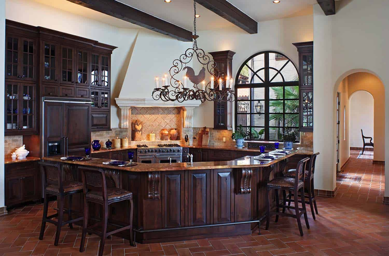 Mediterranean Style Lake House-Cornerstone Architects-14-1 Kindesign