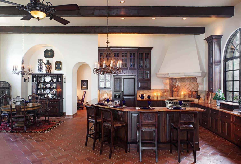 Mediterranean Style Lake House-Cornerstone Architects-15-1 Kindesign