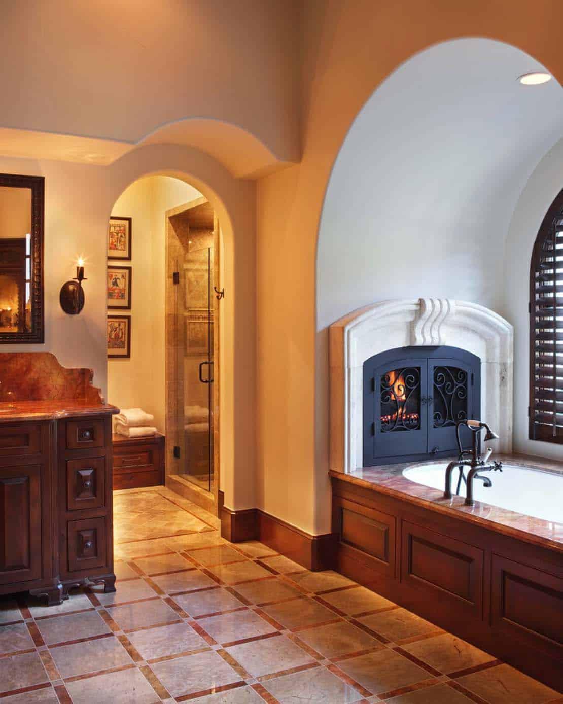 Mediterranean Style Lake House-Cornerstone Architects-19-1 Kindesign