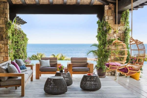 featured posts image for A beachfront Mediterranean style villa in Cabo San Lucas