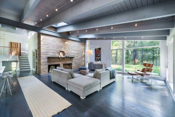 featured posts image for Mid-century modern remodel in Massachusetts opens to the outdoors